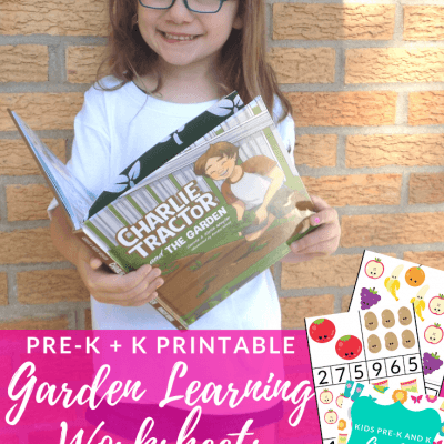 Garden Learning Printable Worksheets for Pre-K and K