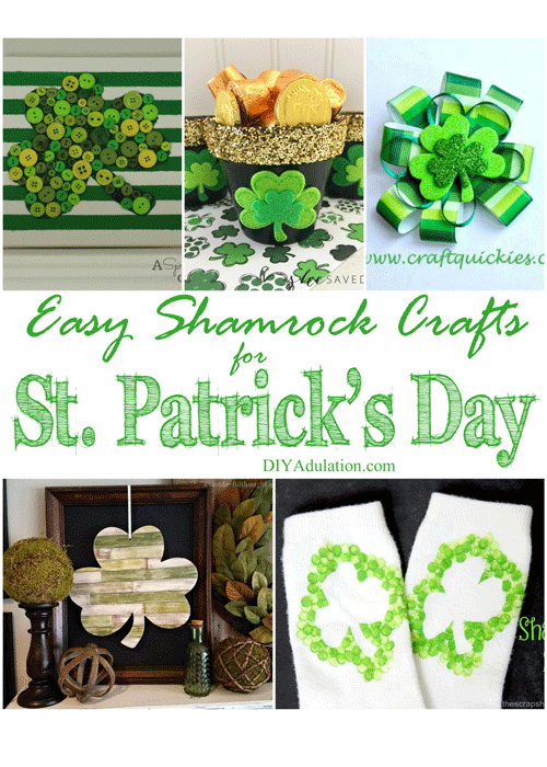 Easy Shamrock Crafts for Saint Patrick's Day