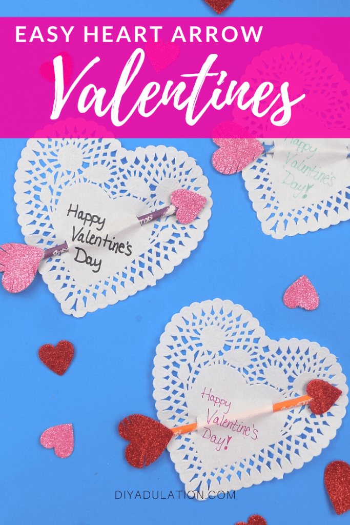 Easy Heart Arrow Valentines